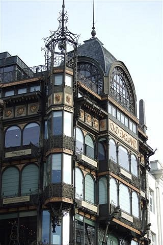 La maison Old England, ancien grand magasin...