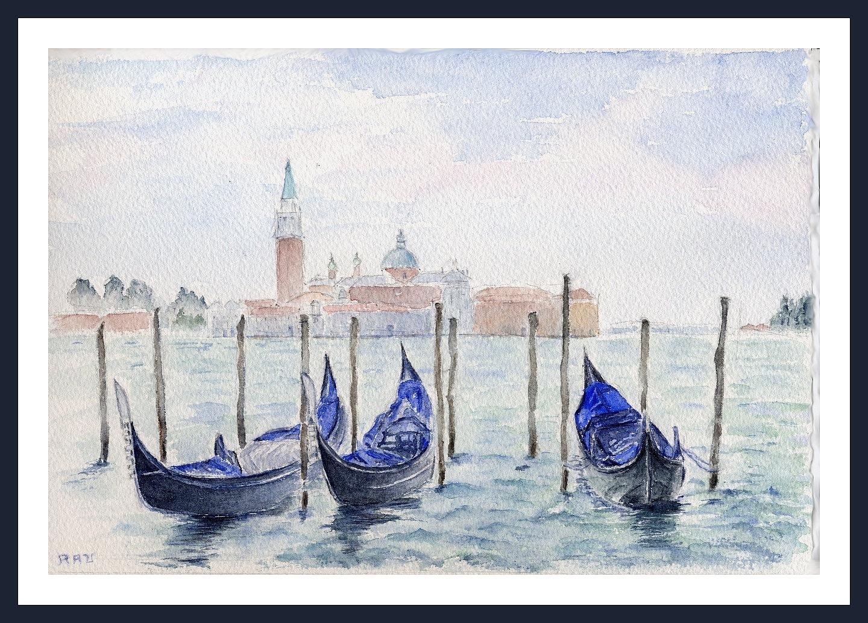 Aquarelles Et Dessins Venise